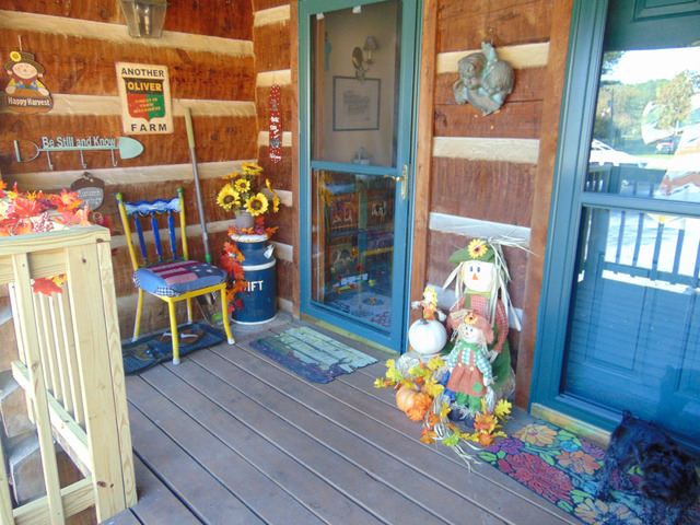 log cabin condo lake weiss