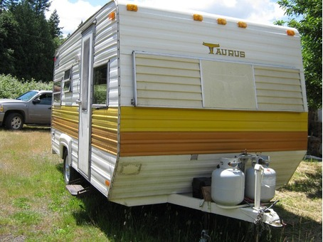 1975 Taurus camping trailer-$4800